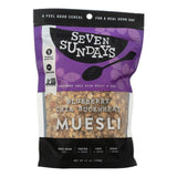 Seven Sundays Muesli - Blueberry Chia Buckwheat - Case Of 6 - 12 Oz.