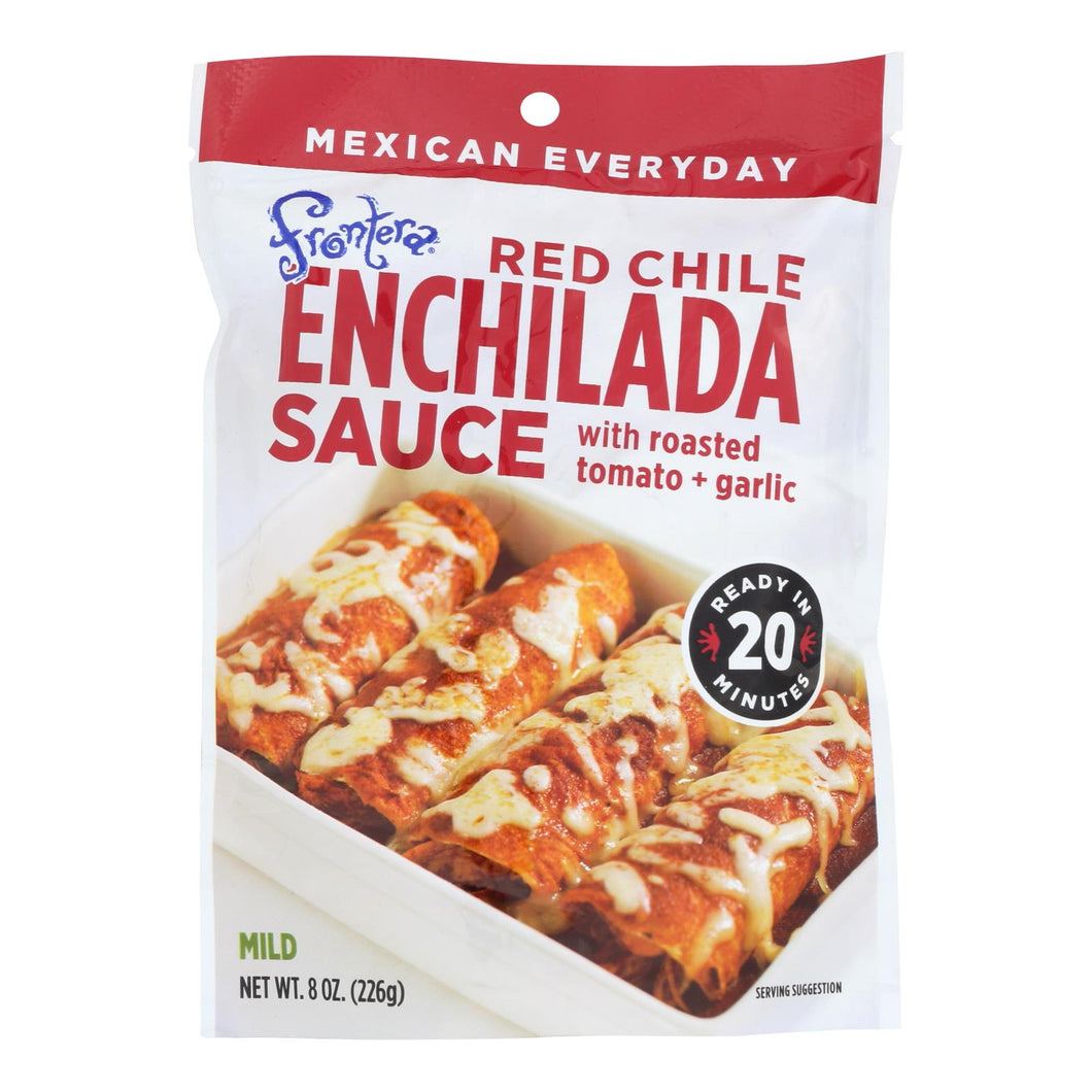 Frontera Foods Red Chile Enchilada Sauce - Enchilada Sauce - Case Of 6 - 8 Oz.