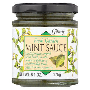 Gilway Fresh Garden Sauce - Mint - Case Of 6 - 6.1 Oz.