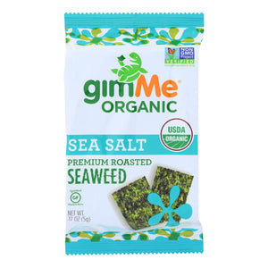 Gimme Organic Roasted - Sea Salt - Case Of 12 - 0.17 Oz.