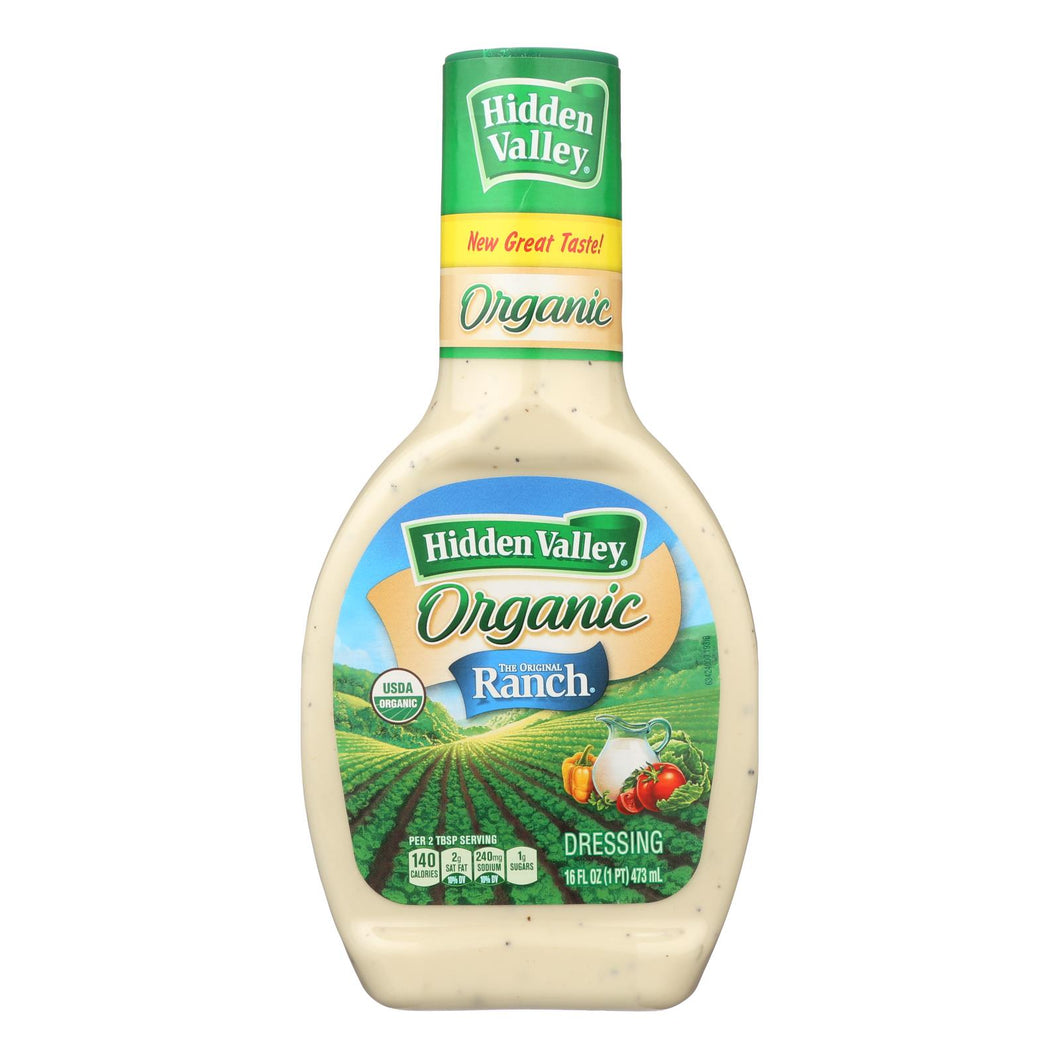 Hidden Valley Organic Ranch - Original - Case Of 6 - 16 Fl Oz.