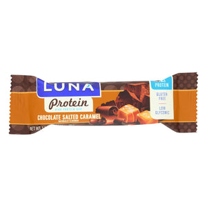 Luna Protein Chocolate Salted Caramel - Case Of 12 - 1.59 Oz.