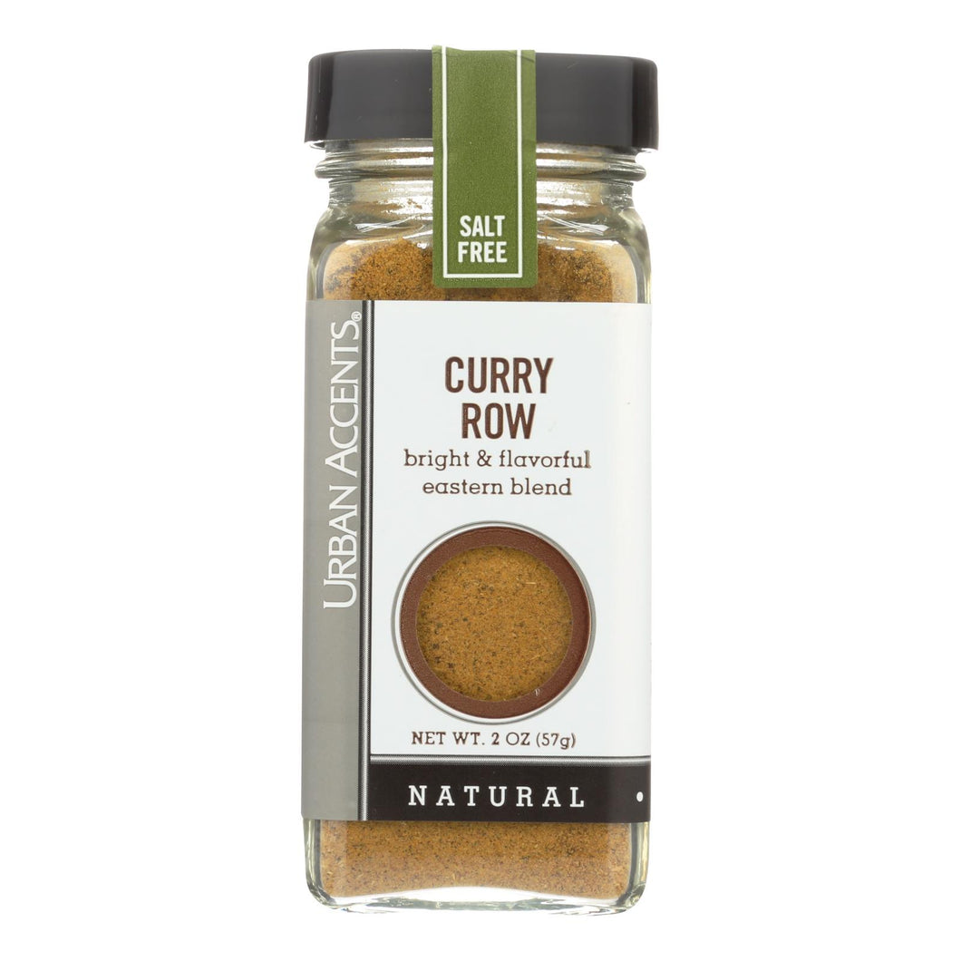 Urban Accents Spice Blend - Curry Row - Case Of 4 - 1.9 Oz
