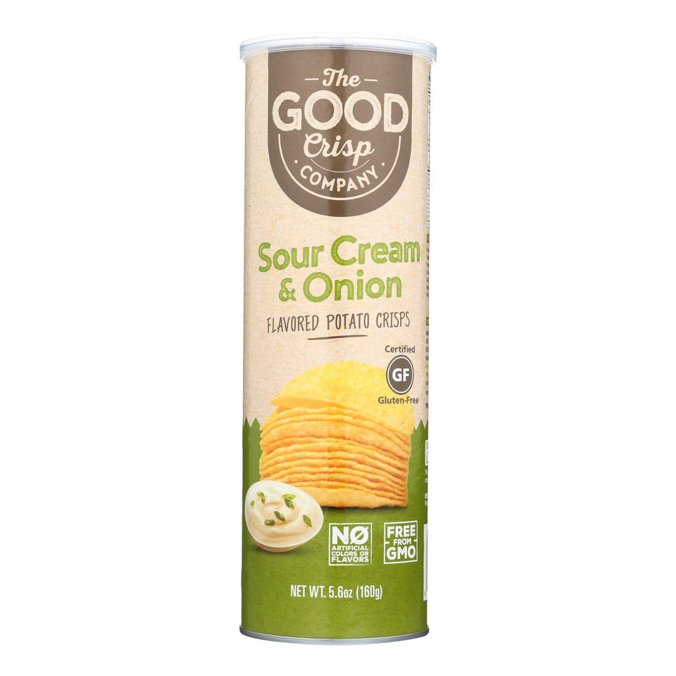 The Good Crisp - Sour Cream And Onion - Case Of 8 - 5.6 Oz.