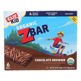 Clif Kid Zbar - Chocolate Brownie - Case Of 9 - 7.62 Oz