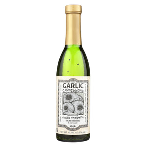 Garlic Expressions Salad Dressing - Vinaigrete - Case Of 12 - 12.5 Oz