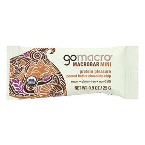 Gomacro Bar - Peanut Butter Chocolate Chip - Case Of 24 - .9 Oz