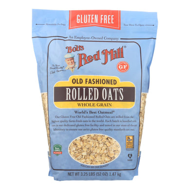 Bob's Red Mill - Old Fashioned Rolled Oats - Gluten Free - Case Of 4-52 Oz.