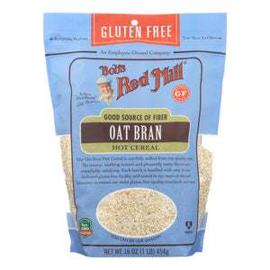 Bob's Red Mill - Oat Bran - Gluten Free - Case Of 4-16 Oz.