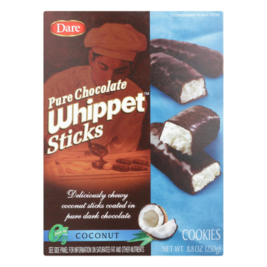 Dare - Whippet Sticks - Coconut - Case Of 12 - 8.8 Oz.