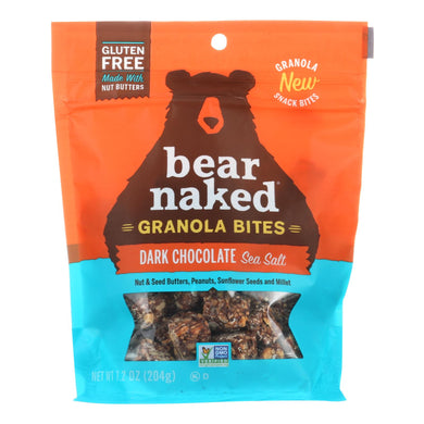 Bear Naked - Granola Bites - Dark Chocolate Sea Salt - Case Of 6 - 7.2 Oz.
