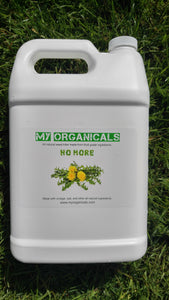 Organic Natural Weed Killer Vinegar - 1 Gallon - myorganicals