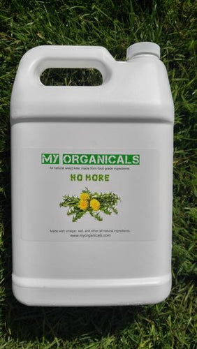 Organic Natural Weed Killer Vinegar - 24 oz Spray Bottle - myorganicals