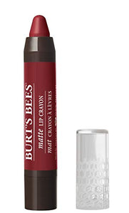 Burt's Bees 100% Natural Moisturizing Matte Lip Crayon, Redwood Forest - 1 Crayon - myorganicals