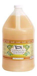 Vermont Soap Organics - Lemongrass Foaming Hand Soap Gallon Refill - myorganicals