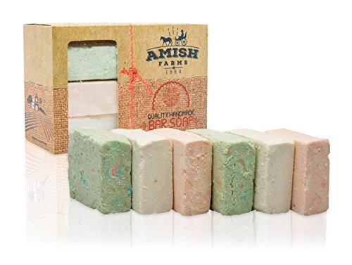 Amish Farms Handmade Bar Soap, Natural Ingredients, Cold Pressed - myorganicals