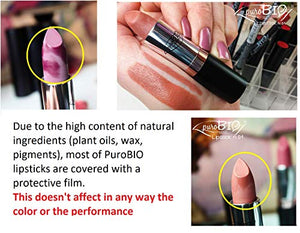PuroBIO Certified ORGANIC High-pigmented and Long-Lasting Semi-Matte Organic Lipstick - myorganicals
