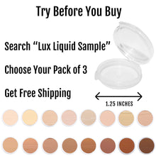 BaeBlu Organic Aloe-Based LUX Liquid Foundation, Natural Vegan Gluten-Free Made in USA, Latte - myorganicals
