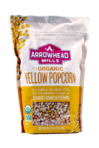Arrowhead Mills Organic Popcorn - 2 Bags - Total of 56 Ounces (2 Pack) - myorganicals