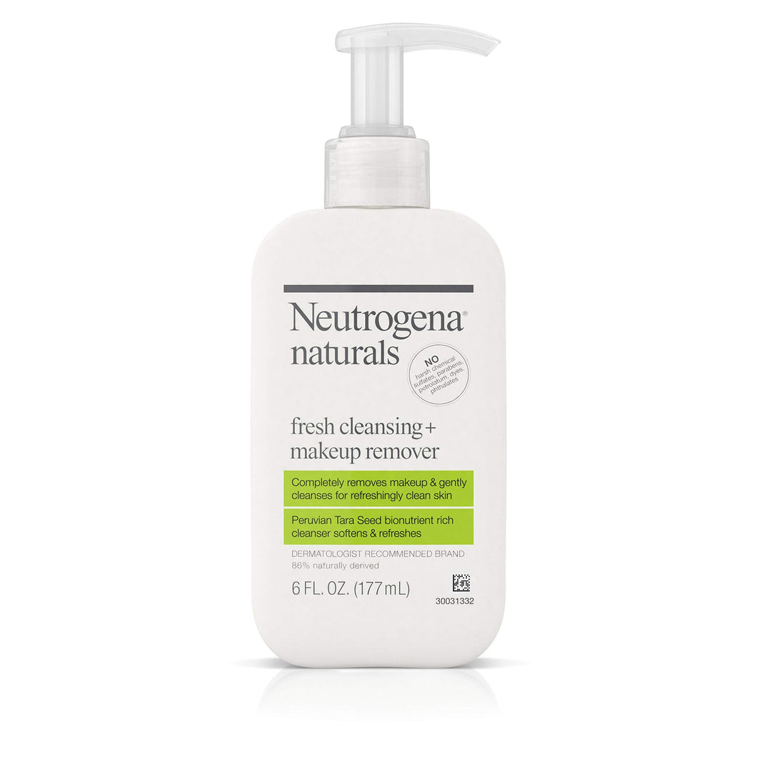Neutrogena Naturals Fresh Cleansing Daily Face Wash + Makeup Remover - myorganicals