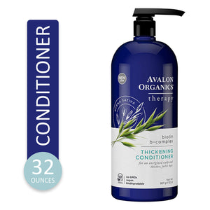 Avalon Organics Biotin B-Complex Thickening Conditioner, 32 oz. - myorganicals