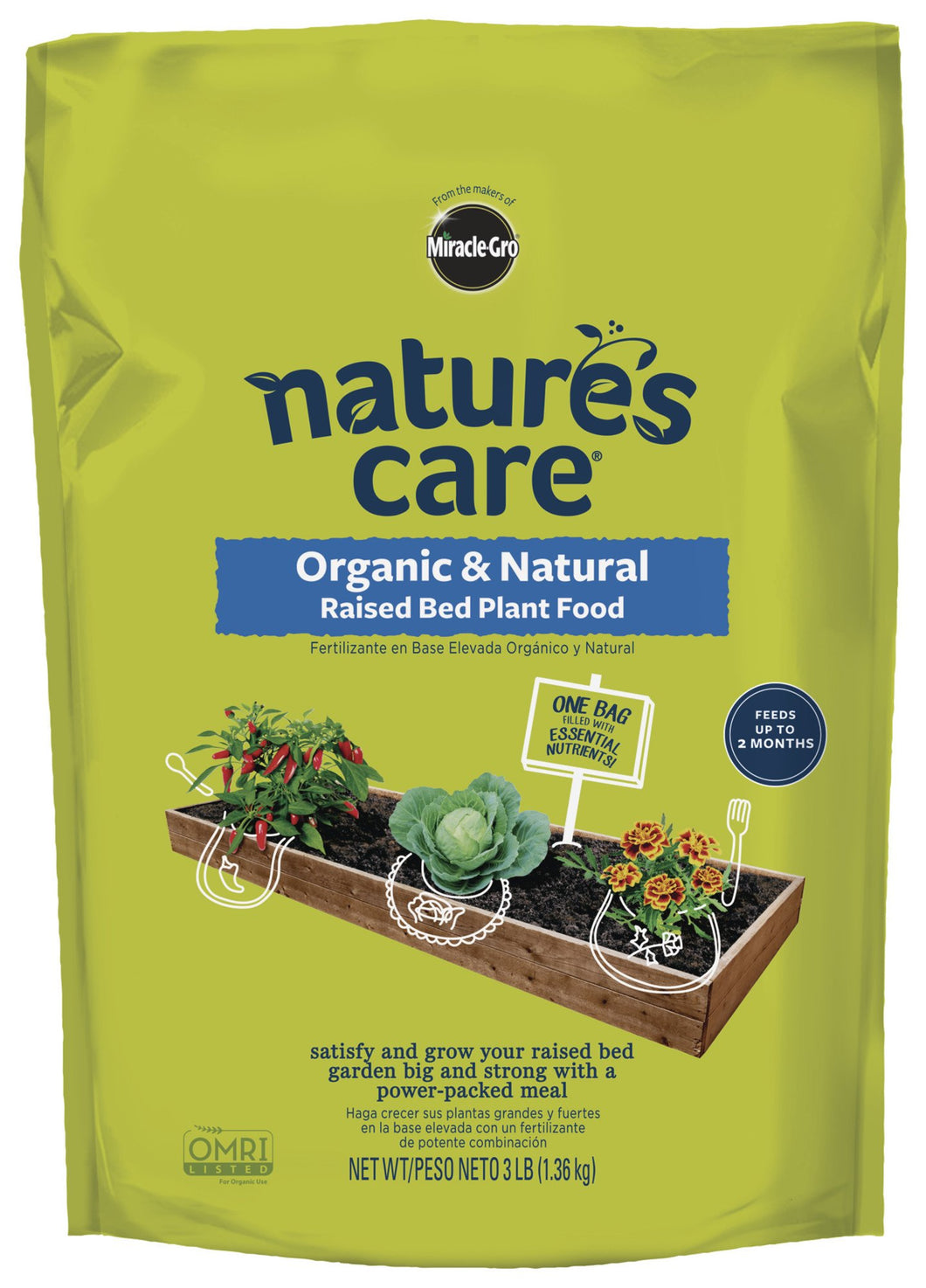 Nature's Care Organic & Natural Raised Bed Plant Food - myorganicals