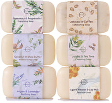 O Naturals 6 Piece Moisturizing Body Wash Bar Soap Collection. 100% Natural - myorganicals