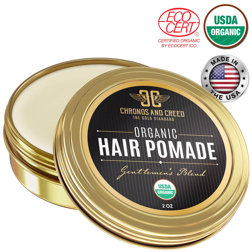 Chronos And Creed - Certified Organic Hair Pomade - myorganicals