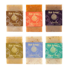 Bali Soap - Natural Soap Bar Gift Set, Face Soap or Body Soap, 6 pc Variety Soap Pack - myorganicals