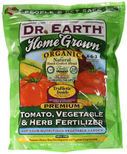 Dr. Earth Organic 5 Tomato, Vegetable & Herb Fertilizer Poly Bag - myorganicals