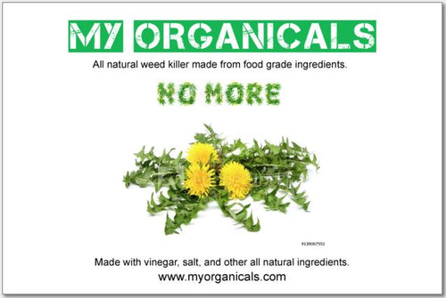 Organic Weed Killer - Free Sample - myorganicals
