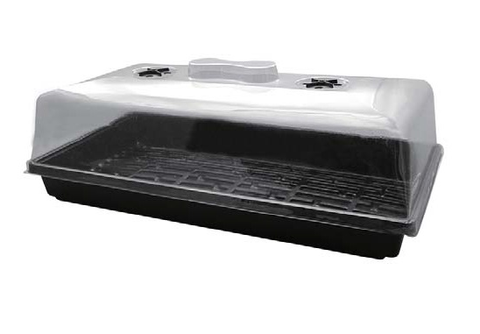 "High dome propagator 21.3"" x 11"" x 7.8"" - Iponic Zone"