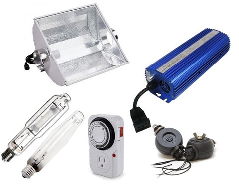 1000w Digital Air Cooled Hood Grow Light System