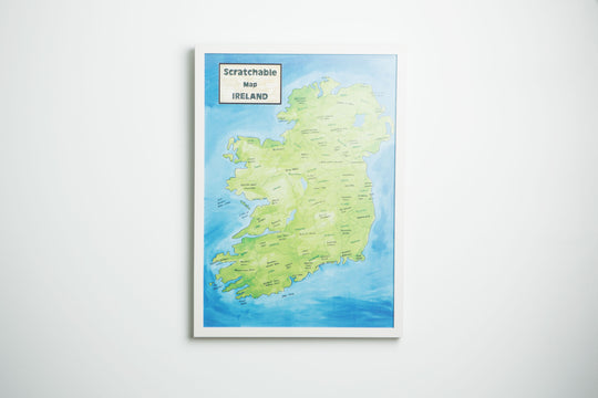 Places On Scratchable Map Ireland To Bring Your Mammy This Mothers Day