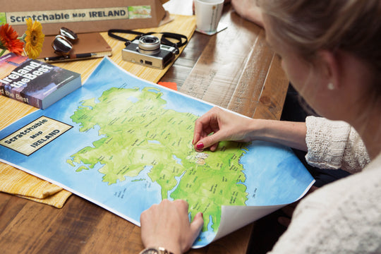 What Makes Scratchable Map Ireland Unique?