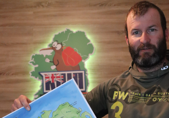 My Scratchable Map Ireland with Kiwi Exploring Ireland