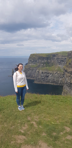Brenagh at Cliffs Of Moher