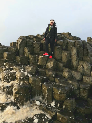 Brenagh at The Giant's Causeway