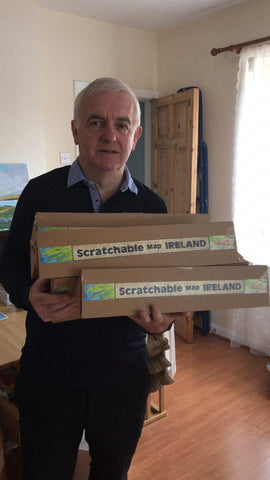 Seamus - Scratchable Map Ireland