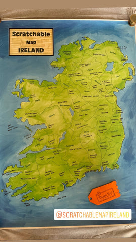 Katie's Scratchable Map Ireland