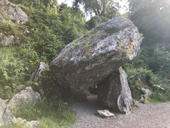 The Dolmen at Blarney Castle