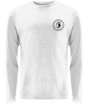 Unisex White Long Sleeve Shirt