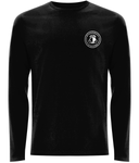 Unisex Black Long Sleeve Shirt