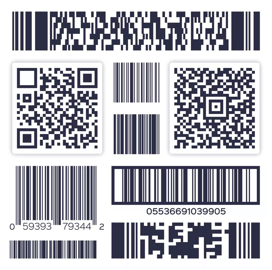 Barcode, QR & Identification Labels