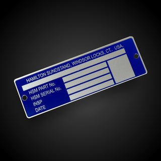 Chemically Etched Nameplates