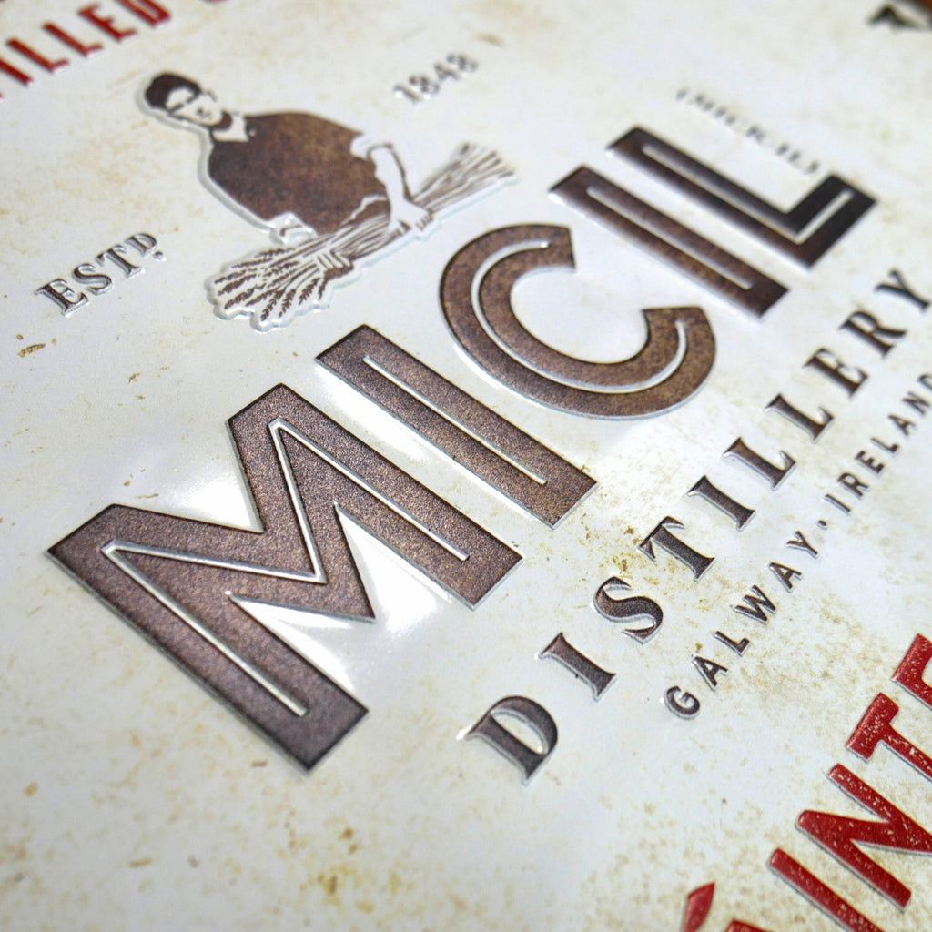 Embossed Metal Signs & Pressed Metal Signs