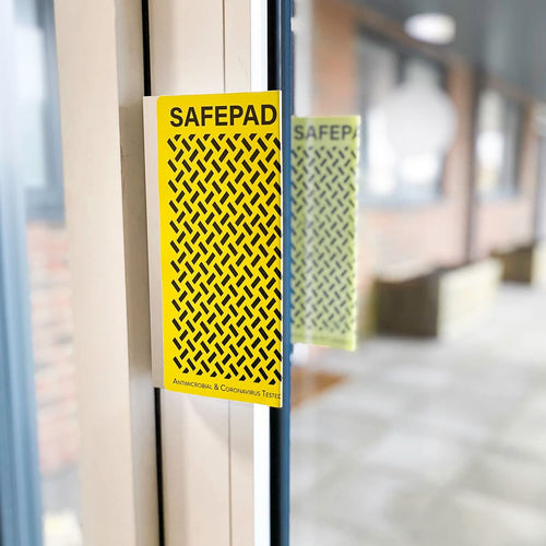 Safe Pad Antiviral Push Pull Door Handle