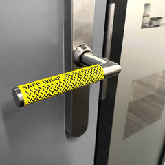 Safe Wrap Antiviral Door Handle Sticker