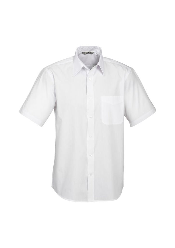 Biz Collection S10512 Mens Base Short Sleeve Shirt