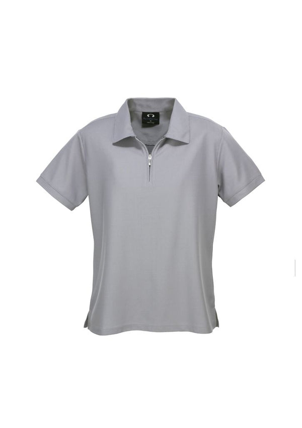 Biz Collection P3325 Ladies Micro Waffle Polo
